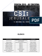 CSI Jerusalém - O Enigma da Cruz