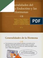 Generalidades del Sistema Endocrino y las Hormonas