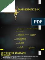 Mathematics IX