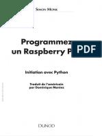 Programmez un Raspberry Pi - Initiation avec Python - Simon Monk 2014.pdf