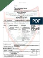 SESIONES DE APRENDIZAJE - 6° MARZO LACCHAN