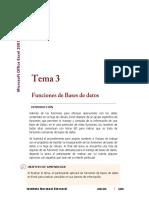 Lectura 3. Funciones de Bases de Datos