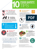 Top 10 Food Safety Tips