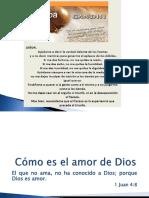 20180218 - Cómo Es El Amor de Dios