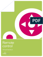 Remote Control Virtual Handout, US