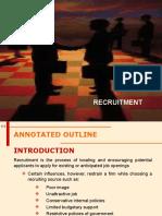 2.1 Recruitment