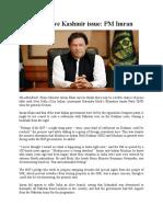 Modi Can Solve Kashmir Issue