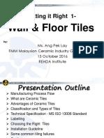 1 Wall Floor Tiles