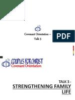 Covenant Orientation 3