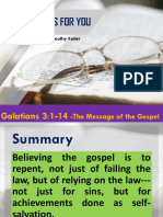 Galatians for You Chap 3-1-14