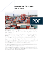 Despite Rupee Devaluation