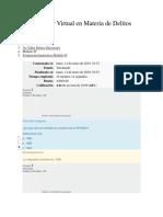 Evaluación Diagnóstica Módulo IV