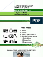 4.MIL 4. Types of Media (Part 1)- Types of Media and Media Convergence