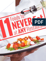11 Foods to NEVER Eat at ANY Restaurant 1216