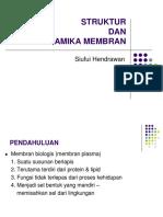 Struktur & Dinamika Membran (Kbk) (Salinan Berkonflik Susi 2013-11-19)
