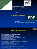 Presentación Estrategias Financieras