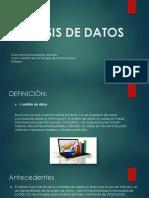 Analisis de Datos