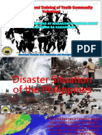 D. Disaster Situation of the Philippines