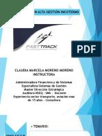 Curso Certificación Alta Gestión Incoterms Para Fast - Marcela Moreno