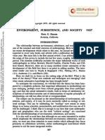ENVIRONMENT, SUBSISTENCE, AND SOCIETY. annurev.an.01.100172.001231.pdf