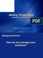 Getting Things Done Slides