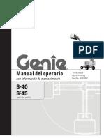 Manlift Genie s40