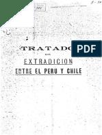 Tratado de Extradición entre Perú y Chile