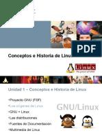 3 Historia & Conceptos de Linux