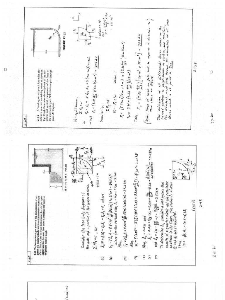 Fluid Mechanics (White) Solution Manual