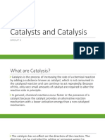 Catalysts and Catalysis