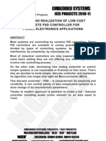 Design and Realization of Low Cost Discrete PSD Controller for Power Electronics Applications
