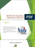 Identificación de Peligros y Riesgos(Supervisor)