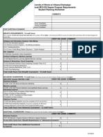Prof MCS-DS Degree Program Worksheet