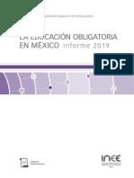 Informe INEE 2019 Capítulo 4 Multigrado
