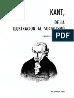 Kant - Florez, Kant, De la ilustración al socialismo.pdf