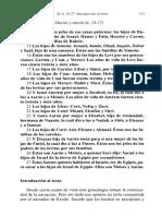 Andiñach, Pablo - Genealogía de Moisés y Aarón [El Libro Del Éxodo]