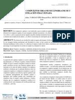 INFORME 1 DIFERENCIA ENTRE COMPUESTOS ORGANICOS E INORGANICOS Y DESTILACION FRACCIONADA 1 (2) (Autoguardado).docx