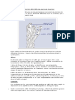 Estructura y Composición Del Cable de Acero de Ascensor