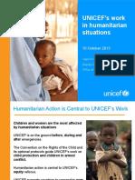 UNICEF Humanitarian Action