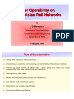 10. Inter Operability in Trans Asian Railway