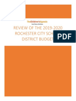 The Children's Agenda - RCSD Budget Review 2019 2020