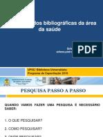 Bases bibliograficas da área da saúde