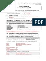 Formato SNIP Salitral