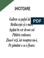 Ghicitoare - Format a3