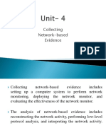 Unit 4 Part 1 Network Based Evidence