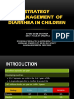 (PS 1-3)Strategy in Management of Diarrhea