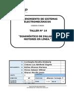 Diagnóstico de Fallas en Motores en Línea