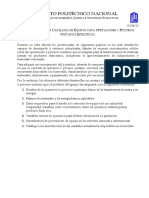 Catálogo de Equipos Para Operaciones Específicas Marzo 2019