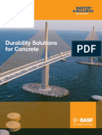 Basf Durability Solutions for Concrete Brochure