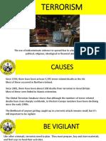 Terrorism Presentation 2